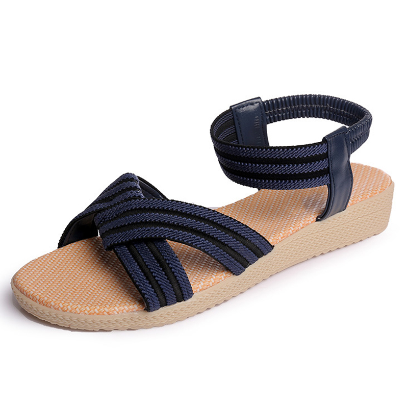 Fashion Summer Women Shoes Flats Sandals for Women Sandals Comfortable Beach Shoes  women Footwear boys girls antislip usb sandals summer cut out comfortable flats beach sandals kids children breathable led shoes with light