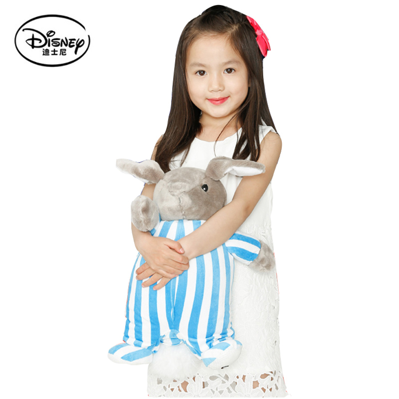 ФОТО Disney Robb Multi-function Toy +Pillow+Blanket Cartoon Rabbit Plush Toys Stuffed Dolls Portable Rest Blanket Kid Peluches Gifts