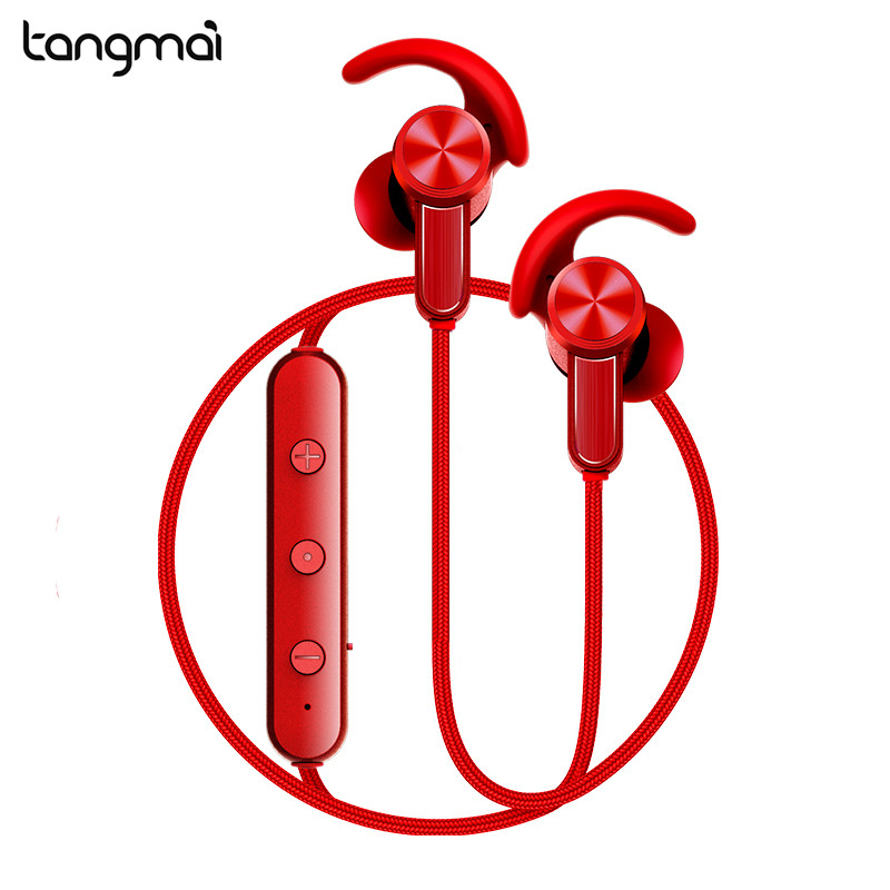 Tangmai S0 Bluetooth Earphones With Mic Control Wireless Headphones Stereo Magnetic Bluetooth Headset for Phone Xiaomi iPhone bt4 1 stereo bluetooth headset adjustable earphone wireless headphones headset with mic and volume control for smartphone adults