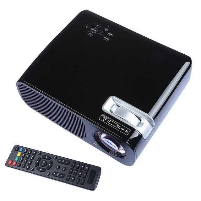 Digital Mini LED Projector BL-20 Full HD 1080P LCD Projectors Home Theater Cinema Video Media Player HDMI VGA TV YPbPr 6pcs DHL