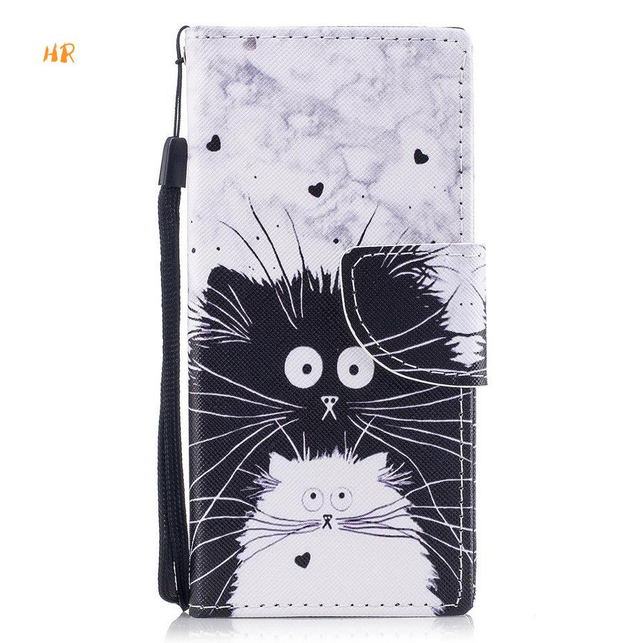 Humble Pu Leather Case For Sony Xperia Xa Xa1 L1 L2 E5 Xz1 Compact Xz2 Luxury Lovely Pattern Leather Cover Flip Wallet Case Wallet Cases