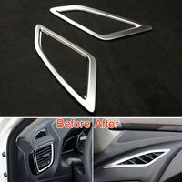 Dashboard Upper AC Air Condition Vents Outlet Frame Cover 2x For 3 Axela 14 2015