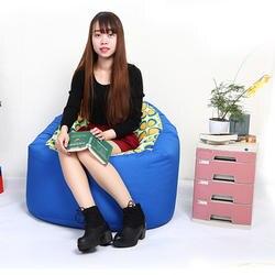 Печатные Bean Bag Lounger Диван Крышка стулья Открытый пуф слоеного диван ленивый сиденье татами Гостиная мебель погремушка диван без наполнителя