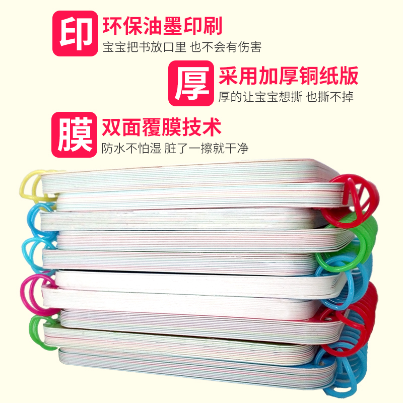 Image 3 - 10pcs/set New Early Education Baby Preschool Learning Chinese characters cards with picture ,Left and right brain developmentBooks   -
