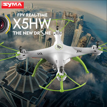 SYMA X5HW FPV Quadcopter 2.4G 4CH 6-Axis with HD Camera WIFI RC Helicopter Real Time Drone Headless mode Children Toys