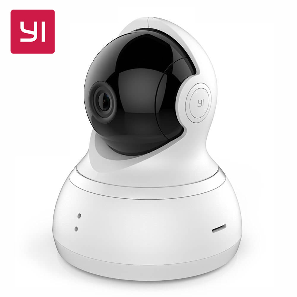 Internation Edition XIAOMI YI Dome Home Camera 112 Degree 720P Night Vision IP Camera 360 Wide Angle PTZ Shooting WiFi Webcam