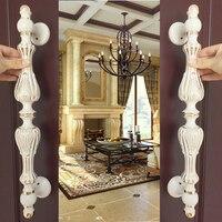 1 Pcs Ivory Door Handle Wooden Door Glass Door Glass Door Modern Handle European Style Archaize