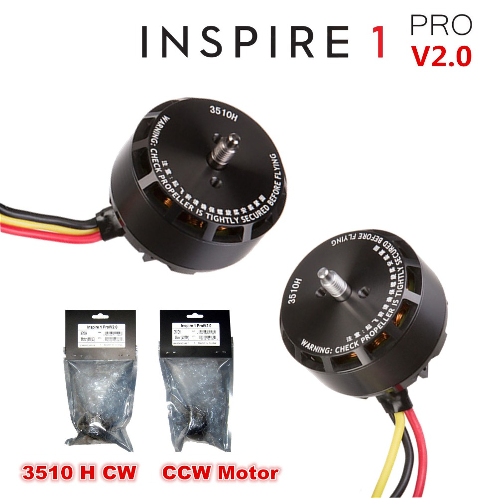 100 Original DJI Inspire 1 Pro V2 0 Brushless CW CCW 3510H Motor CW M2 M4