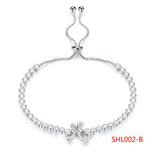 New Pattern Bracelet White Decorate Sweet Exquisite Bracelet Woman Jewelry Can Adjust