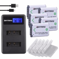 3Pcs NPBX1 NP BX1 NP BX1 Battery Packs LCD Dual USB Charger For Sony DSC RX1
