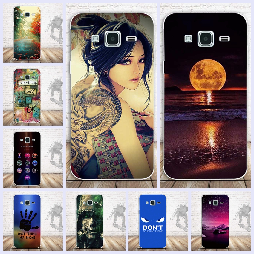 For Samsung Galaxy J7 2016 S6 S6 Edge J1 2016 J5 2016 S7 J7 2016 Note 4 Note 5 Phone Case 3D Printing Case Soft TPU Cover Capa