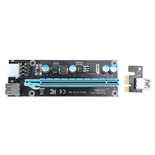 V006 60cm USB 3.0 PCI-E Express 1x 16x Extender Riser Card Adapter PCI-E RISER with 6PIN Power Cable for mining Bitcoin