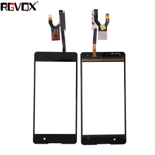 WLFYS New Touch Screen Sensor For Sony Xperia E5 F3311 F3313 Digitizer Front Panel Glass Replacement 50pcs new black touch screen digitizer panel glass lens replacement parts for sony xperia z4 repair part dhl free shipping