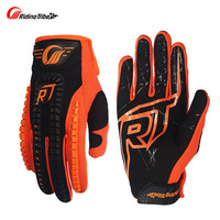 NEW STYLE Motorcycle Touch Screen Racing Gloves Downhill DH Motocross Glove Luvas Guantes Shockproof Glove BLACK