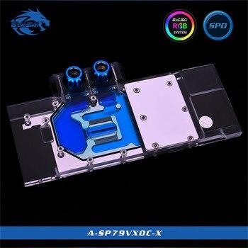Bykski Full Cover GPU Water Block For VGA Sapphire HD7970/R9280X GDDR5 Vapor-XOC Graphics Card A-SP79VXOC-X