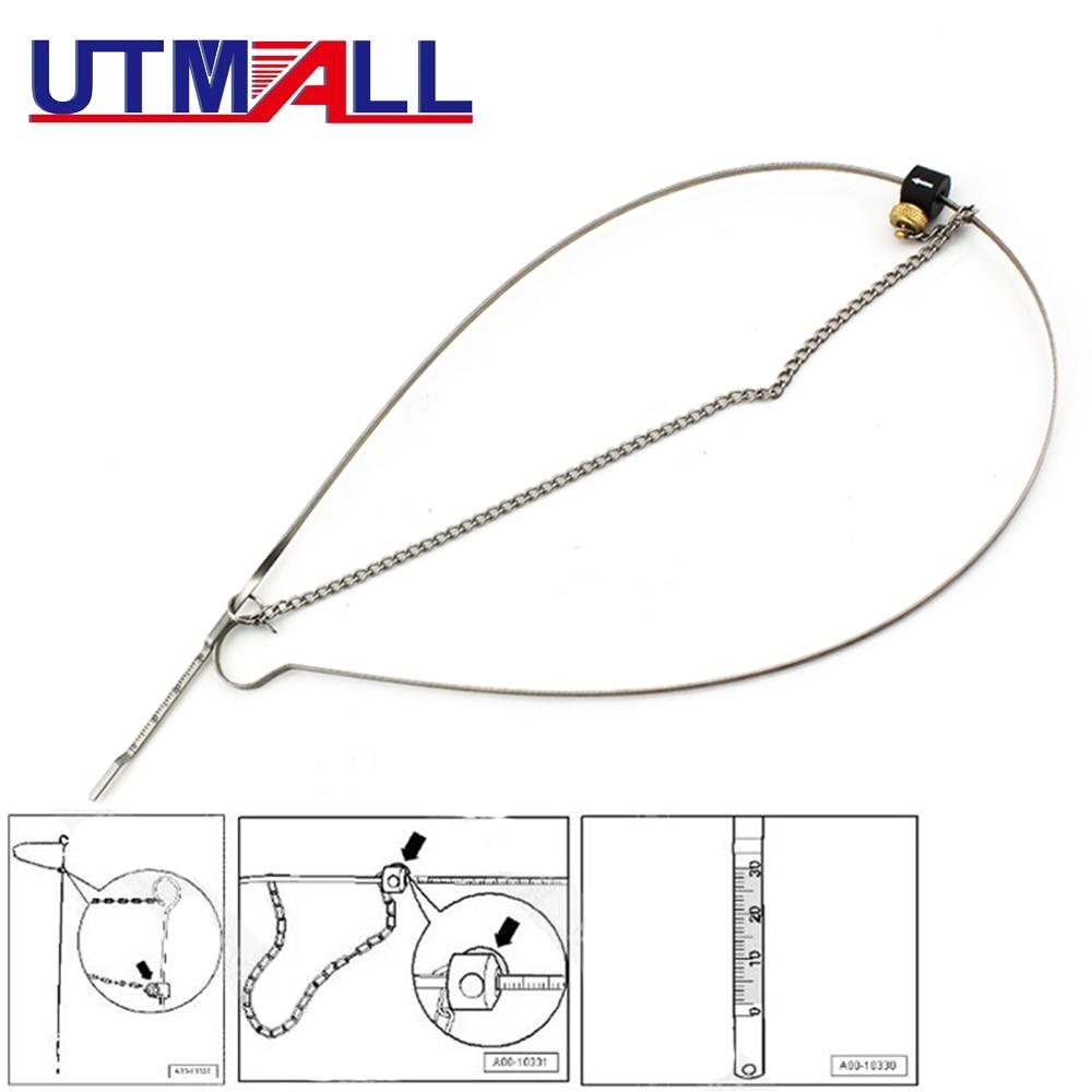 T40178 Adjustable Engin Oil Dipstick Gauge Tool for Audi