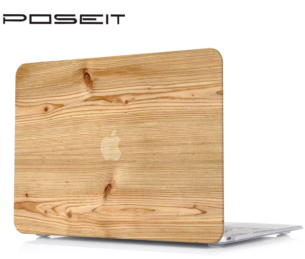 Wood pattern Laptop Case Cover Keyboard Cover Only For Apple Macbook Pro 15 inch CD ROM Model A1286 Mid 2009 Mid 2012 in Laptop Bags Cases from Computer Office