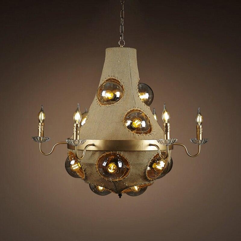 American industry study creative studio retro pendant lamp restaurant cafe Internet Cafe Art pendant lights GY215 lo1020