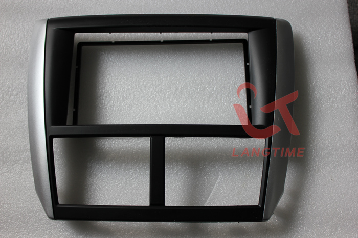 Car refitting DVD frame,DVD panel,Dash Kit,Fascia,Radio Frame,Audio frame for 08-12 SUBARU FORESTER,Impreza,2DIN free shipping car refitting dvd frame dvd panel dash kit fascia radio frame audio frame for 2012 kia k3 2din chinese ca1016