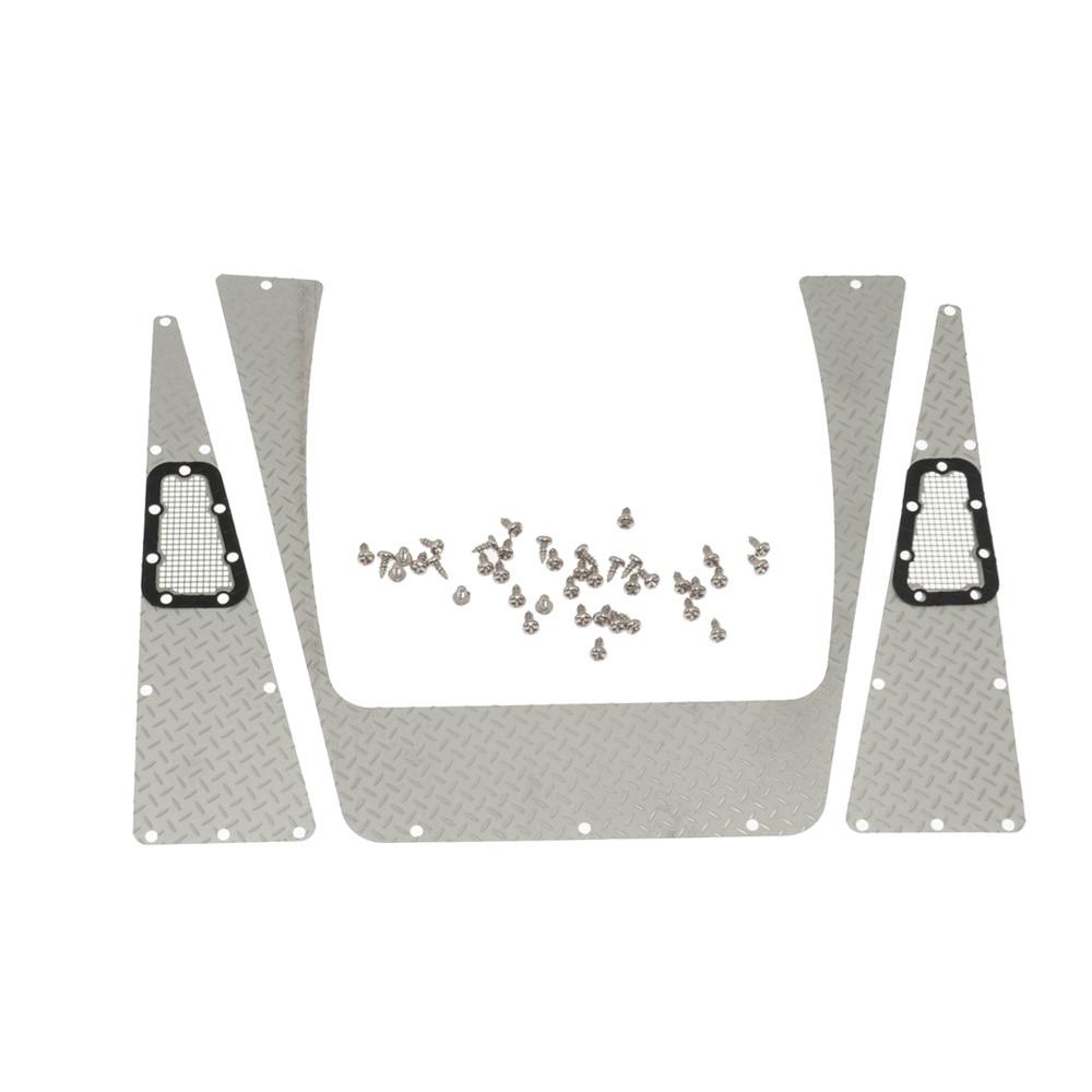 Parrilla de admisión de placa antideslizante de acero inoxidable RC - Juguetes con control remoto - foto 1