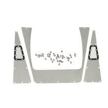 Parrilla de admisión de placa antideslizante de acero inoxidable RC para orugas 1:10 RC Traxxas TRX-4 TRX4