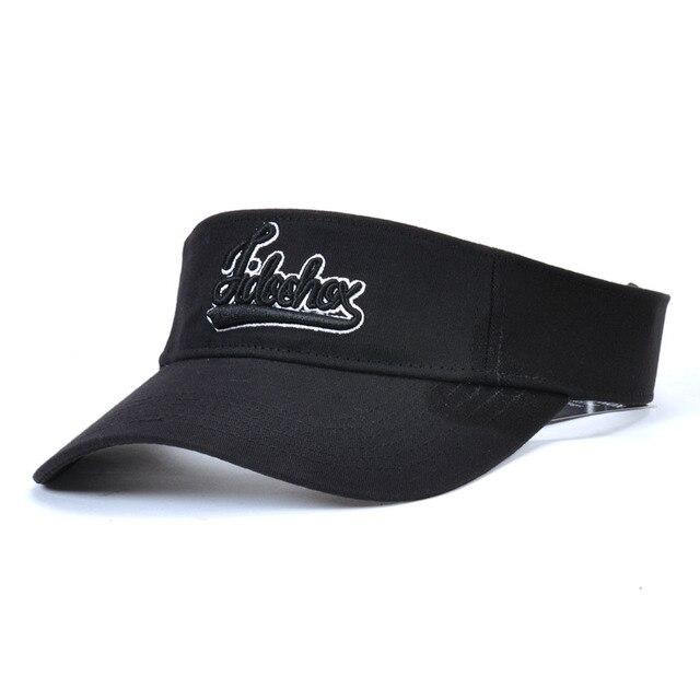 6e0c25afa640b Venta caliente directo gorras estilo mujeres hombres Unisex deportes de  playa Sun Visor sombrero Golf gorras