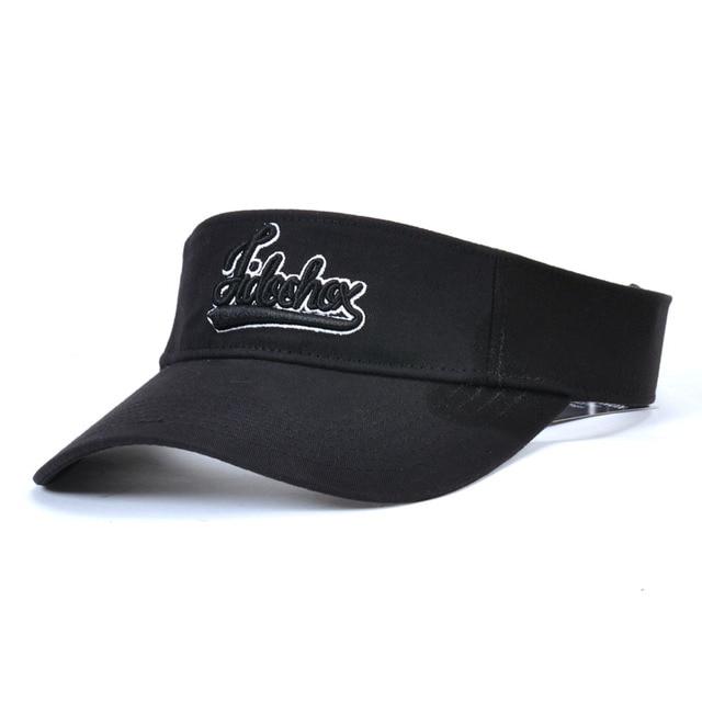 Venta caliente nueva tapas tenis elegante mujeres hombres Unisex playa  deportes visera sombrero gorras de Golf 8dffd71abbe