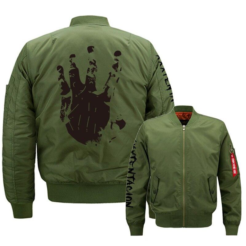 Ma1 Bomber veste 2019 XXXTentacion Zipper pilote survêtement hommes armée vert japonais Merch vol manteau vengeance hoodies veste 6XL