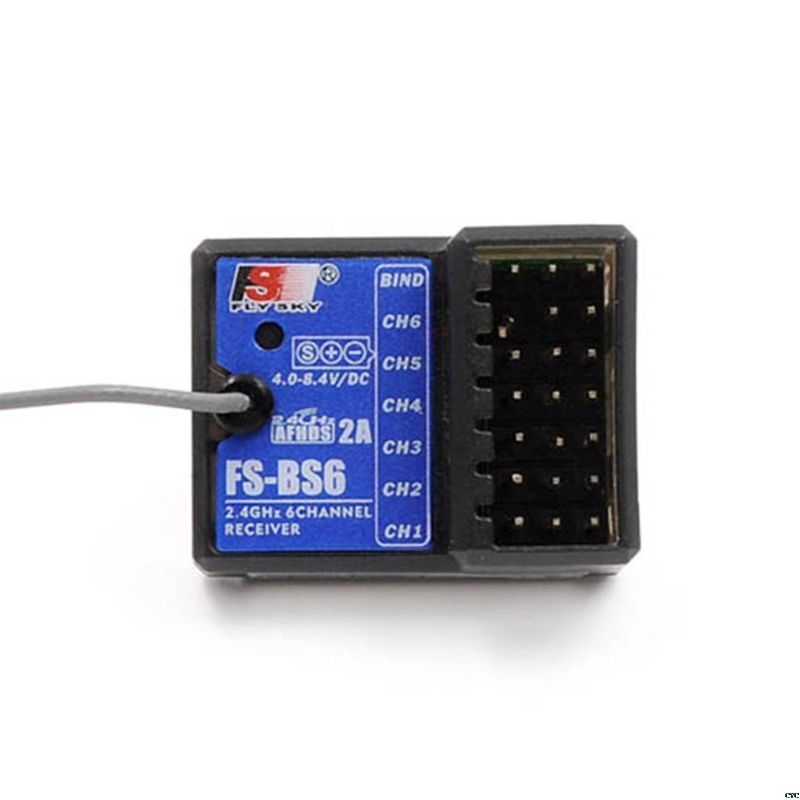Flysky FS-GT5 FS GT5 2.4G 6CH Transmitter with FS-BS6 Receiver Built-in Gyro Fail-Safe for RC Car Boat Remote control