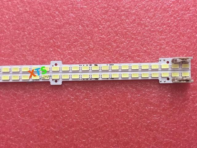 2 piezas 62 leds 440mm luz de fondo LED tira para SamSung 40 pulgadas TV UA40D5000 BN64-01639A LTJ400HM03 2011ss40 FHD 5K6KH1 1CH PV