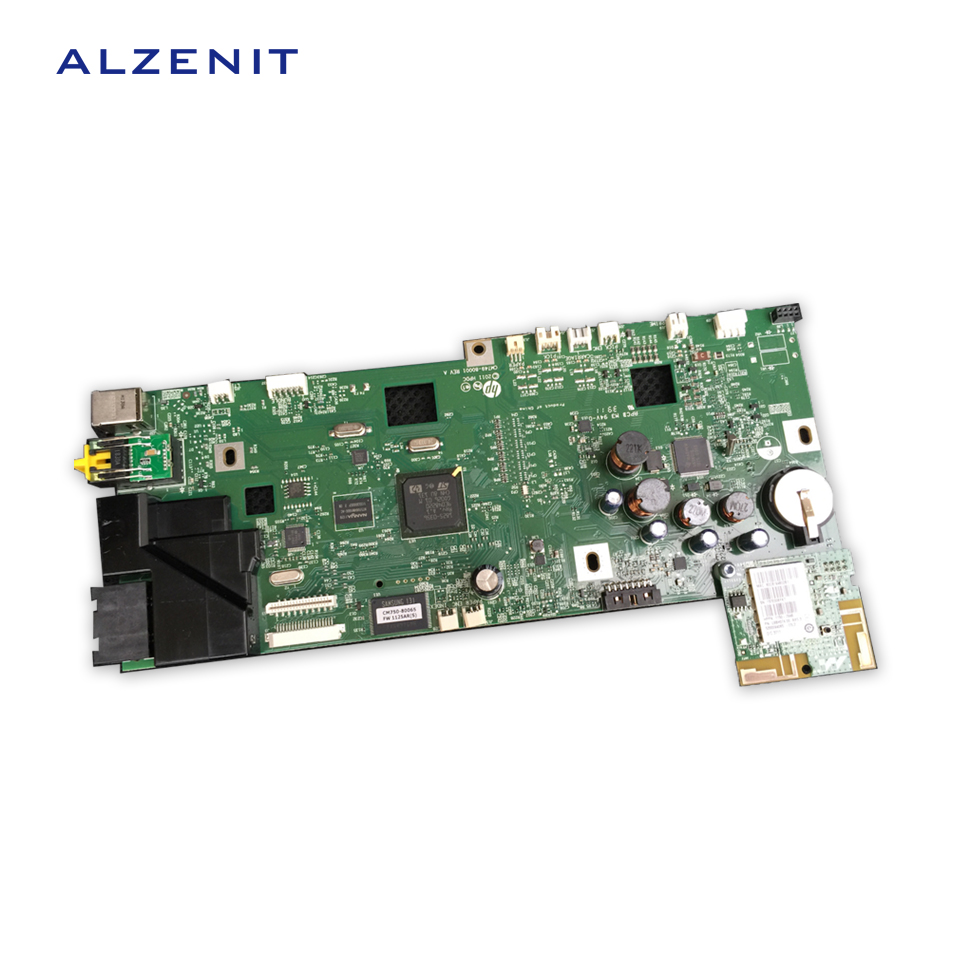 US $21 87 15% OFF|GZLSPART For HP Officejet PRO 8600 HP8600 Original Used  Formatter Board+Wifi Card CM749 80001 Printer Parts On Sale-in Printer  Parts