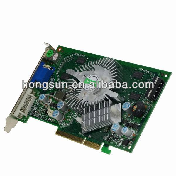 100 NEW NF P508 7600 GS 512MB AGP Graphic Video Card DDR2 800Mhz TVO VGA DVI Drop Freeshipping With Tracking Number In Graphics Cards From Computer