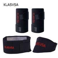 3pcs Set Self Heating Tourmaline Knee Belt Neck Magnetic Therapy Belt For Back Waist Support Brace