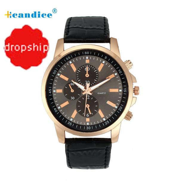 Splendid Fshion Reloje Casual Watches Female Geneva Faux Leather Quartz Analog Wrist Watch For Women Lady