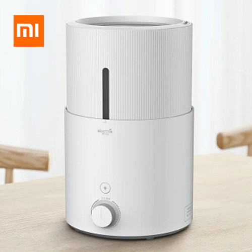 лучшая цена 2018 Original Xiaomi Mi Deerma DEM-SJS600 Air Humidifier For Home 5L Large Capacity Purifying Humidifier From Xiaomi Youpin M2