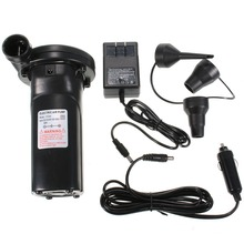 240V 12V Rechargeable Electric Air Pump nickel cadmium font b Battery b font Inflatable Air Pump