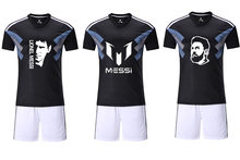 19ccf8a6919 2018 Customize men Breathable 2018 Soccer Jerseys 10 Lionel Messi Uniforms  diy Football Kit Shirt for fans gift
