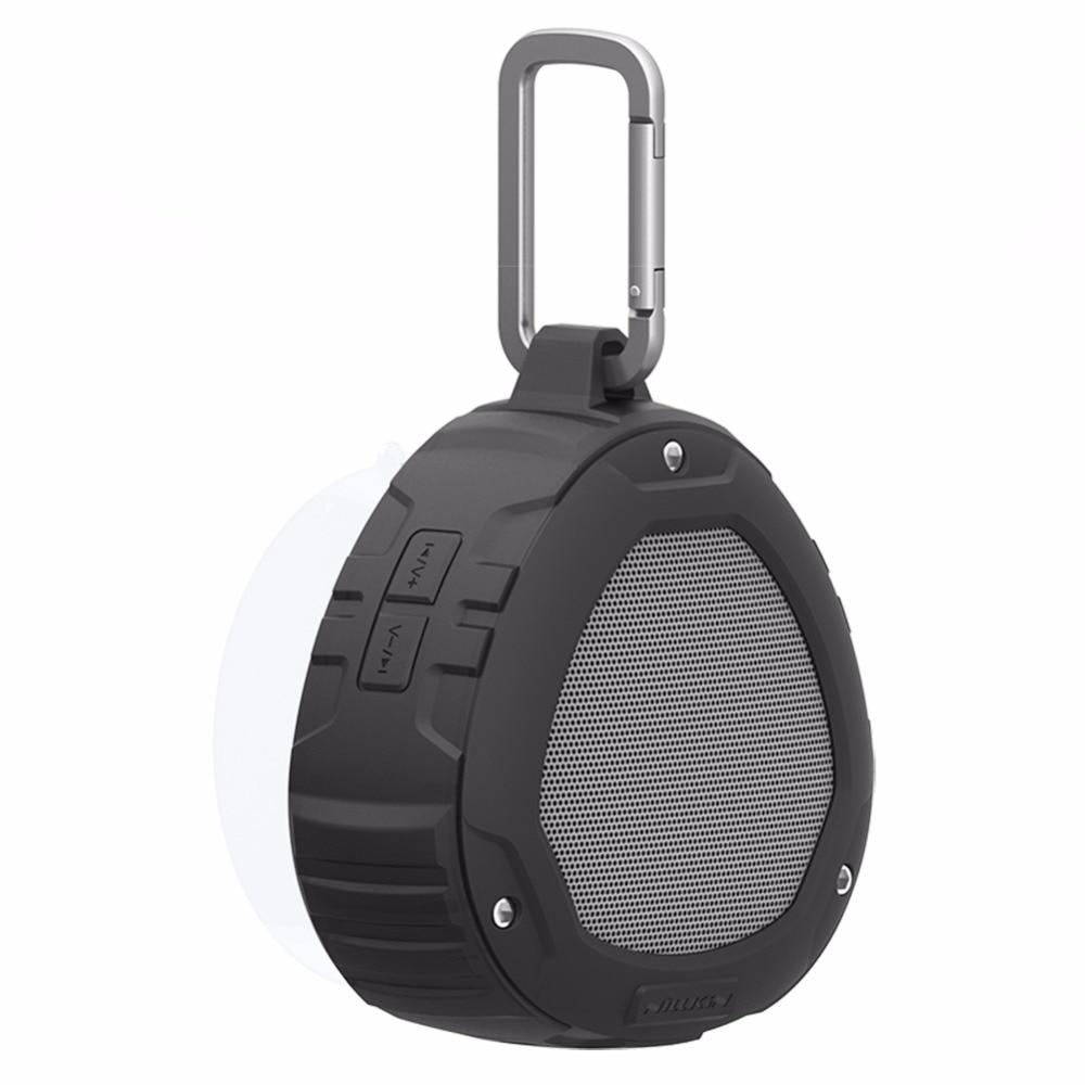Nillkin Мини Открытый Портативный Bluetooth Динамик 4.0 IPX4 Водонепроницаемый звуковой ящик стерео беспроводной динамик bluetooth спорт для xiaomi