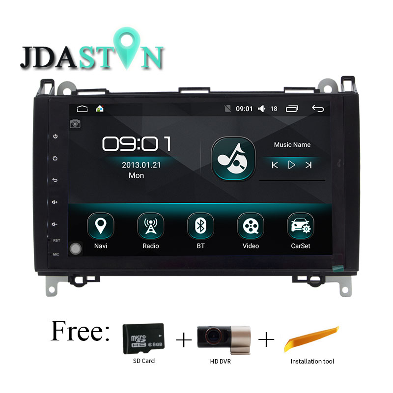 9 Inch Android 6 0 font b Car b font DVD Player GPS Navigation For Mercedes