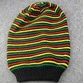 Новая стильная шапка регги Боб Марли, ямайский помпон, Мешковатые шапочки, полосатые поля, хлопок, зимние теплые козырьки, полосатая Кепка ...