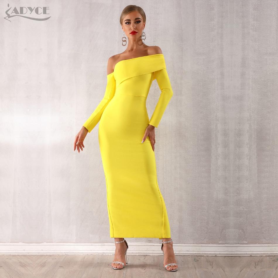 Long Shoulder Dresses Sleeve