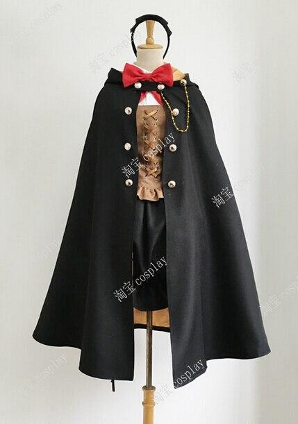 2016 baguette de Fortune Lulu Cosplay Costume ensemble complet toutes les tailles