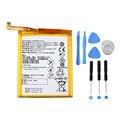 3.8 v 2900 mah substituição bateria li-ion para huawei ascend p9 hb366481ecw telefone móvel + 8 em 1 kit de ferramentas de telefone