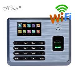 ZK TX628 Biometric Fingerprint Time Attendance With WIFI TCP/IP RS232/485 Linux System Fingerprint Reader Time Recording