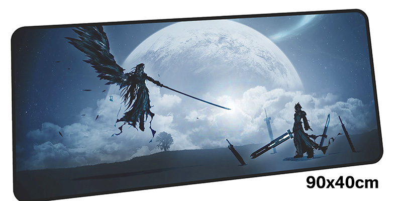 final fantasy mouse pad gamer 900x400mm notbook mouse mat large gaming mousepad large Rinoa pad mouse PC desk padmouse rubber mouse pad mat black