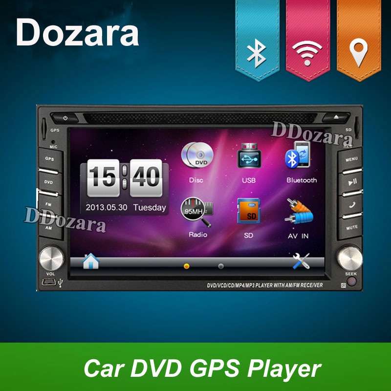 2 Din Car DVD Player Monitor Universal Car Radio GPS Auto 3G USB BT IPOD FM RDS In Dash Car PC Stereo video Audio Camera For VW автомобильный dvd плеер joyous kd 7 800 480 2 din 4 4 gps navi toyota rav4 4 4 dvd dual core rds wifi 3g
