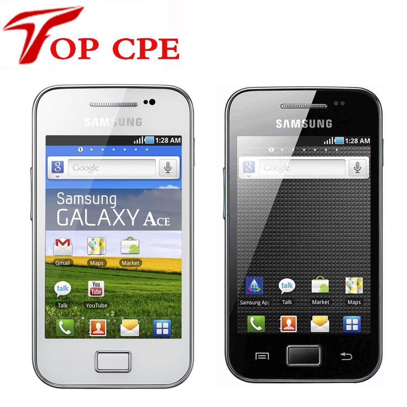 Цена за Оригинальный samsung galaxy ace s5830 s5830i разблокирована сотовый телефон wifi gps 5mp камера 2 г wcdma восстановленное gps wifi бесплатная доставка