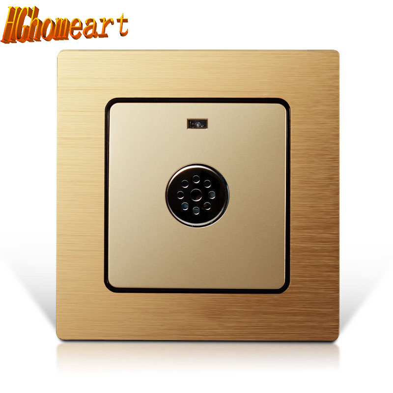 HGhomeart Acoustic optical control switch, led energy-saving light control switch intelligent sound control switch dedi irawan optical switch