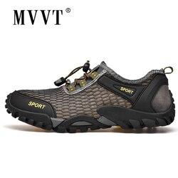 Lato fajne mężczyźni piesze wycieczki buty Quik-pranie mężczyźni trampki Plus rozmiar 46 na zewnątrz buty do chodzenia