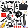 Gopro Accessories Set Helm Harness Chest Strap Head Strap Monopod For Go pro Hero 5 4 3 + 2 5 5 s xiaomi yi action camera
